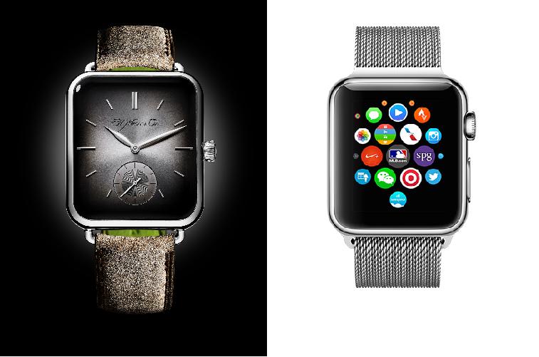 Comparaison entre la Swiss Alp Watch et l'Apple Watch