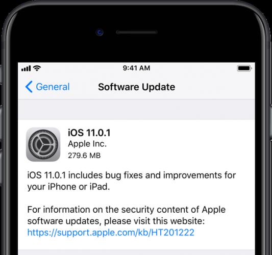 iOS-11.0.1