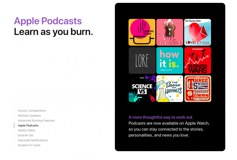Podcasts WatchOS 5