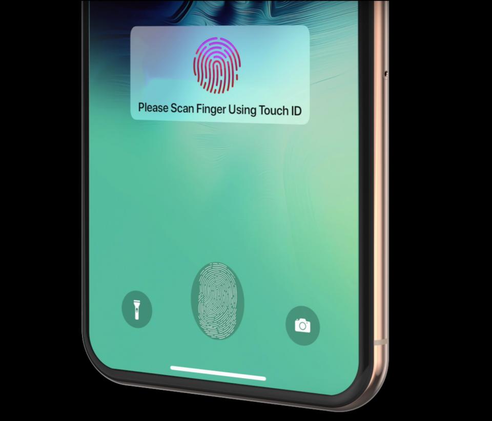 iPhone : Touch ID sous l'écran dès 2022